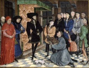 Book Presented to Philip the Good, Flemish @1446