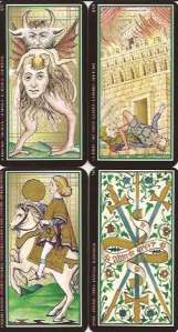 Missing cards of the Visconti-Sforza deck