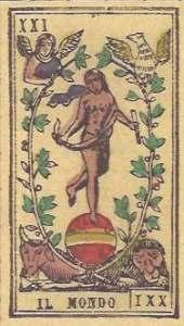 Tarocco PIemontese by Il Meneghello World card