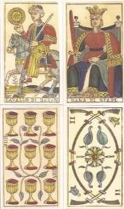 Tarocchi Vergnano cards