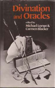 cover of Divination and Oracles edited by Loewe and Blacker