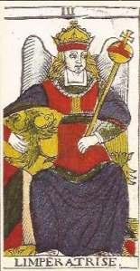 Empress card Pierre Madenie deck