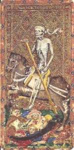 Carey-Yale tarot Death card