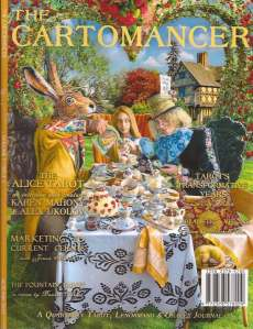 Cartomancer magazine Autumn 2015 cover