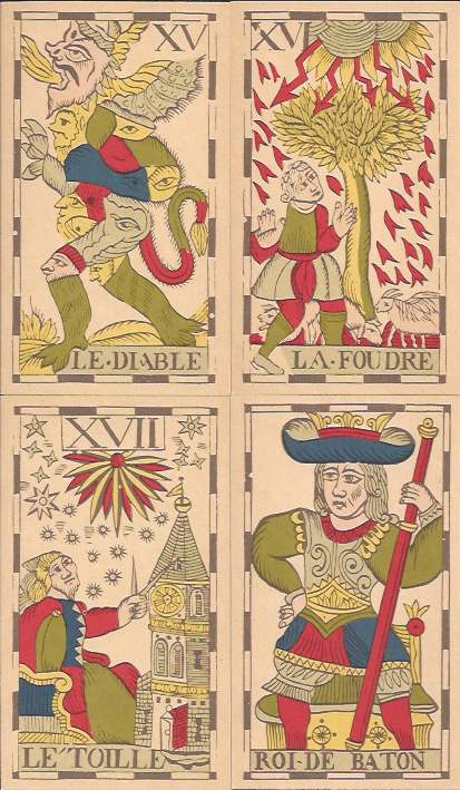 Vandenborre Flemish Tarot cards