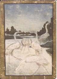 Courtly Hunt deck five of Herons