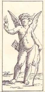 Tarocco Milanese  di Mitelli Love card