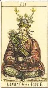 Tarocchi Orientali Foudraz Empress