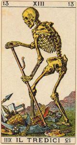 Soprafino Tredici  Death card
