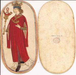 Cloisters Flemish playing cards