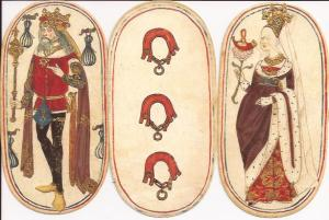 Cloisters Flemish playing cards court cards
