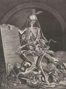 Johann Death engraving Ridinger