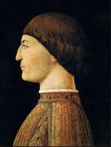 Sigismondo Malatesta portrait by Piero della Francesca