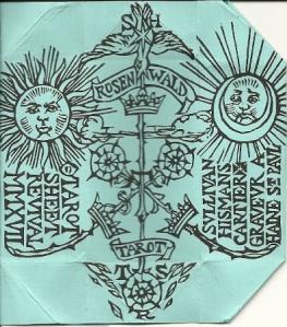 Rosenwald deck envelope