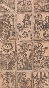 Cary Sheet of cards from 1500