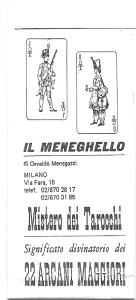 Il Meneghello's booklet