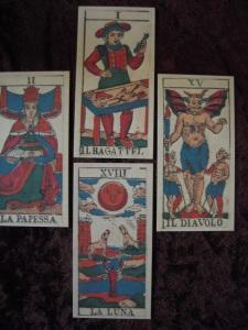 Wirth's four-card spread