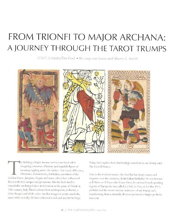 The Cartomancer Magazine Summer 2018 Tarot Heritage