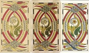 Six of Swords from Vandenborre deck