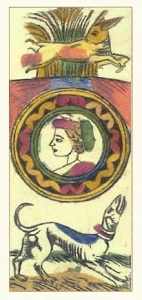 Ace of Coins Fine dall Torre Tarocchi