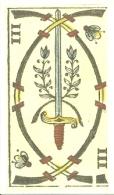 Vergnano Tarocchi 3 Swords