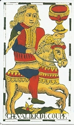 Knight of Cups Vandenborre deck