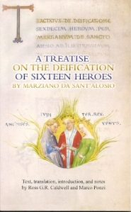 Cover of book A Treatise on the Deification of Sixteen Heroes
