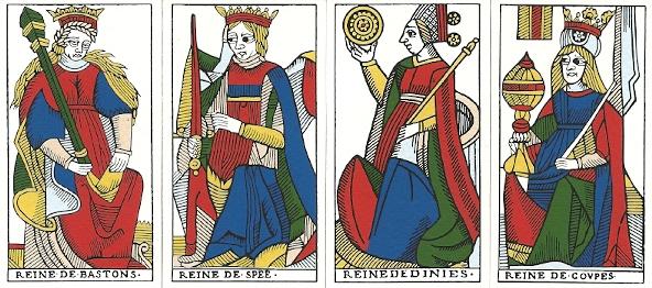 Four Queens Nicolas Rolichon tarot
