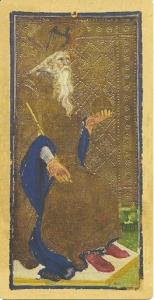 Visconti Sforza Tarot Emperor Card