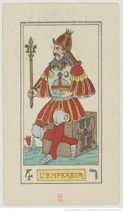 Oswald Wirth Tarot Emperor card