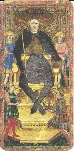 Visconti di Modrone Tarocchi Emperor