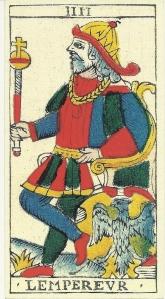 Rochias Tarot Emperor card