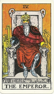 Rider Waite Smith Tarot Emperor card