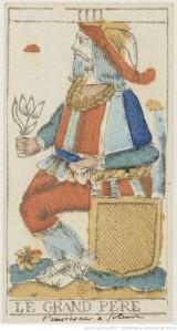 Isnard tarot Grand Pere card