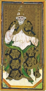 The Pope Visconti Sforza Tarot