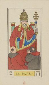 Pope, Oswald Wirth Tarot