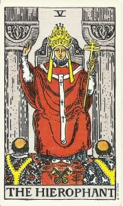 Hierophant, Waite Smith Tarot