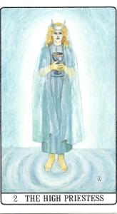 High Priestess Golden Dawn Tarot