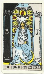 High Priestess Waite Smith Tarot
