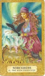 Sorceress Chrysalis Tarot