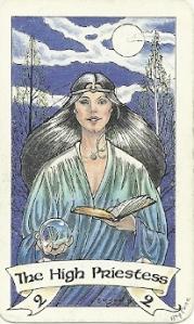 High Priestess Robin Wood Tarot