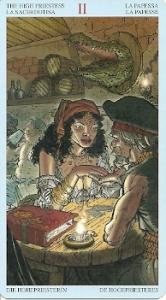 High Priestess Pirates Tarot