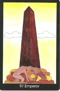 Emperor card Tarot of the Crone