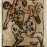 Agnolo Hebreo Devil Tarot Card