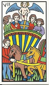 Robert Place Budapest deck Chariot card