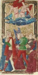 Tarocchi Charles VI Love card