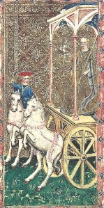Visconti di Modrone Cary-Yale Chariot tarot card
