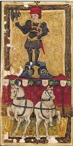 Charles VI tarot card