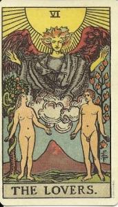 Waite Smith Lovers Card